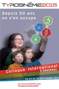 Colloque international à Saguenay du 24 au 26 septembre 2015